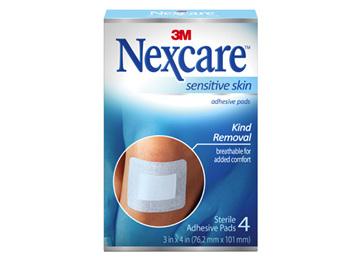 Nexcare Sensitive Skin Adhesive Pads 4