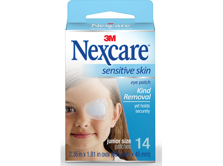 Nexcare Sensitive Skin Eye Patch Juni 14