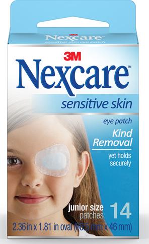 Nexcare Sensitive Skin Eye Patch Juni 14