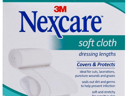 Nexcare Soft Cloth Dres 6 Cm X 1 M