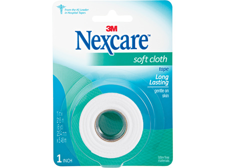 Nexcare Soft Cloth Tape 25 Mm X 5.48 M