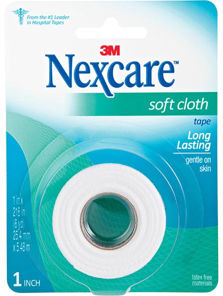 Nexcare Soft Cloth Tape 25 Mm X 5.48 M