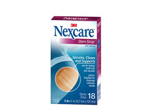 Nexcare Steri-Strip (12X100Mm) 18 Slv/Box