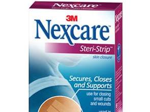 Nexcare Steri-Strip (12X100Mm) 18 Slv/Box