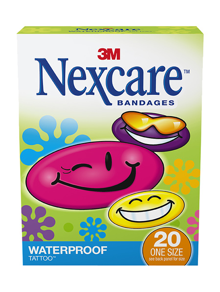 Nexcare Tattoo Bndges 20 Cool W/Proof Os