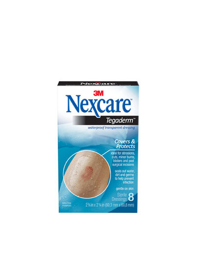Nexcare Tegaderm W/Proof Trans Dress 8/Box