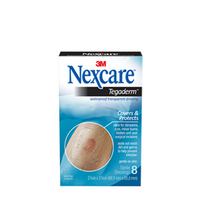 Nexcare Tegaderm W/Proof Trans Dress 8/Box