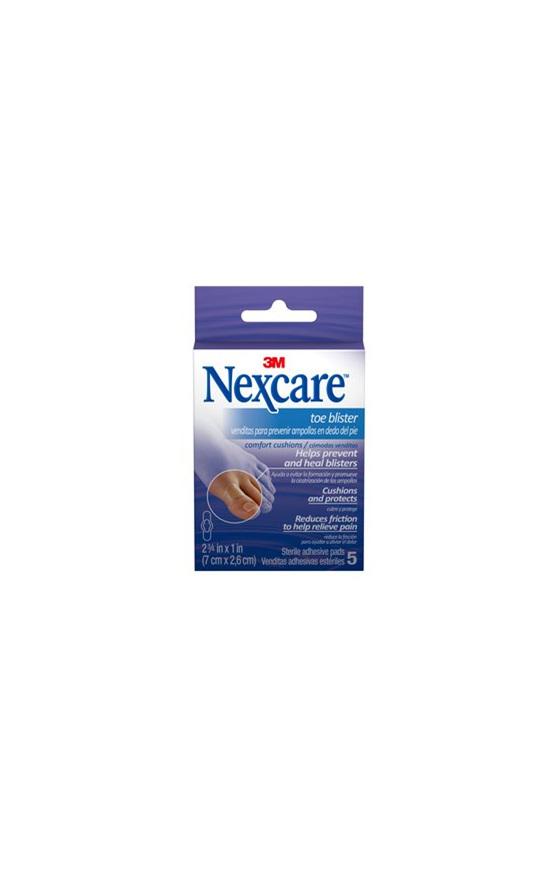 Nexcare Toe Blis Comf Cush 5 Pad 7X2.6Cm