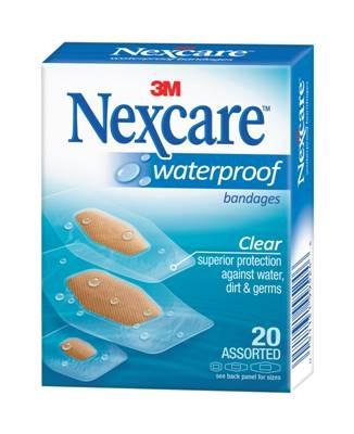 Nexcare W/Proof Bndge Asstd 20