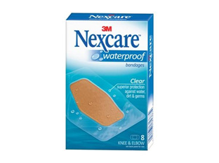 Nexcare W/Proof Bndge Knee&Elbow 8