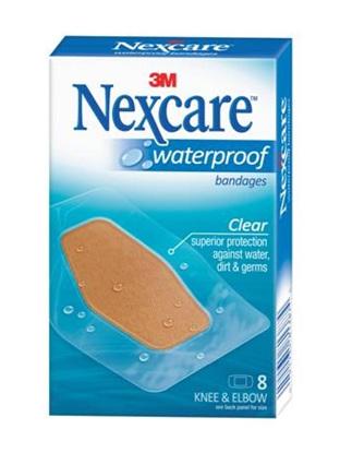 Nexcare W/Proof Bndge Knee&Elbow 8