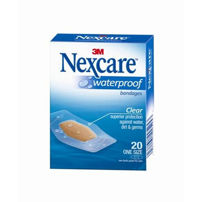 Nexcare W/Proof Bndge One Size 20