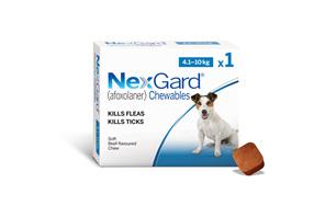 NEXGARD chew for dogs 4.1-10 kg
