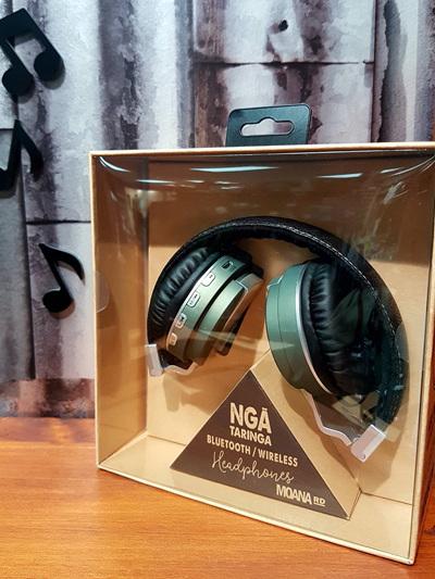 Nga Taringa Headphones - Green