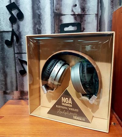 Nga Taringa Headphones - Silver