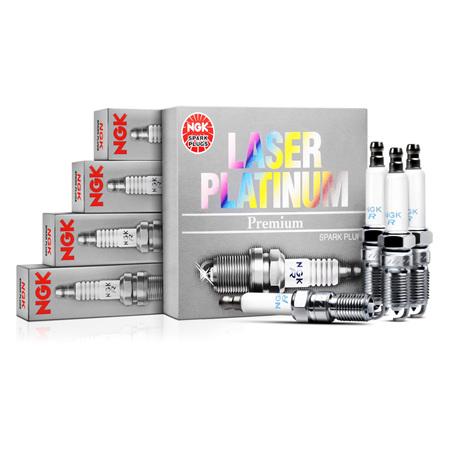 NGK Laser Platinum Spark Plug Set - FD3S RX7