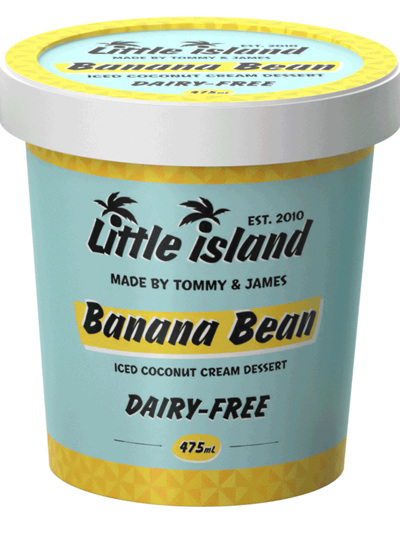 Nice Cream - Banana Bean (475ml Tub)