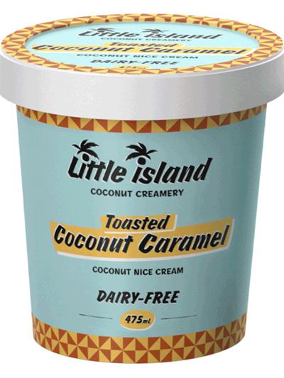 Nice Cream -Toasted Coconut Caramel (475ml Tub)