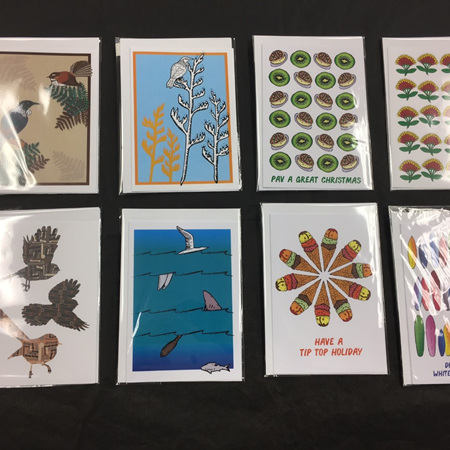 Nick's Cards with Various Prints