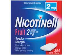 NICOTINELL GUM FRUIT 2MG 96