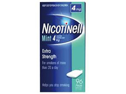 NICOTINELL GUM MINT 4MG24