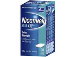 NICOTINELL GUM MINT 4MG96