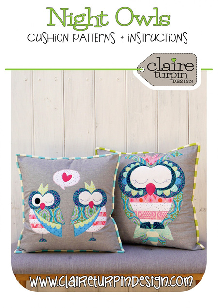 Night Owls Cushion Pattern