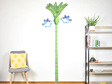 Nikau Growth chart wall decal