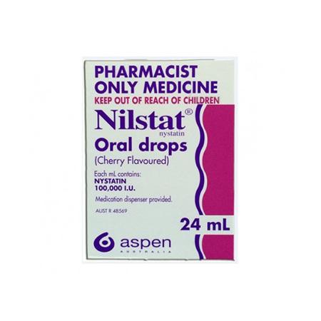 NILSTAT ORAL DROPS 100000U 24ML