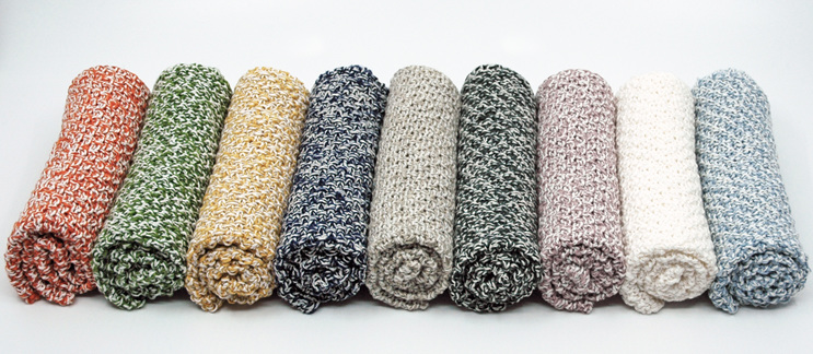 nine colours cotton/linen cloths