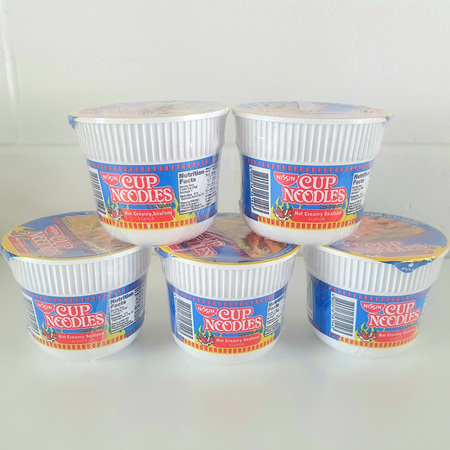 NISSIN CUP NOODLES HOT CREAMY SEAFOOD 48g