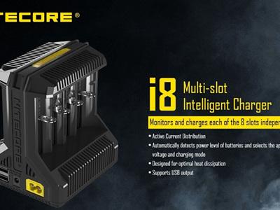 Nitecore I8 8-Slot Intelligent Charger