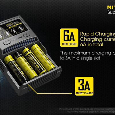 Nitecore SC4 4-Slot Intelligent Charger
