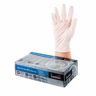 Nitrile Soft White Gloves