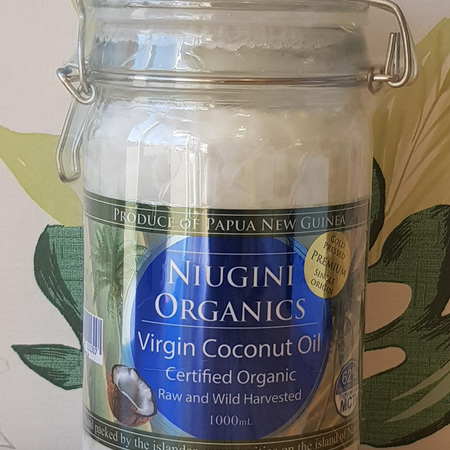 Niugini Organic Virgin Coconut Oil 1000ml