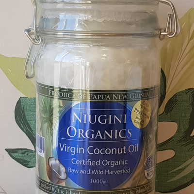 Niugini Organic Virgin Coconut Oil 1000ml