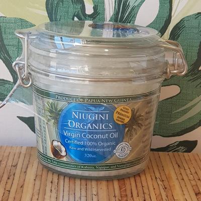 Niugini Organic Virgin Coconut Oil 320ml