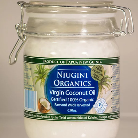 Niugini Organic Virgin Coconut Oil - 650ml