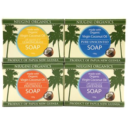 Niugini Organics Coconut Soaps