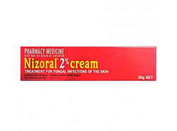 Nizoral 2% Cream Treatment for Fungal Infections of the skin - 30g