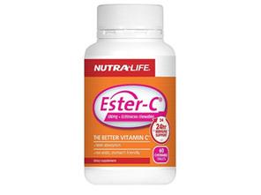 NL Ester C 500mg Echinacea Chew 60