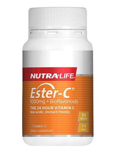 NL Ester C +Bioflavanoid 1000mg 50