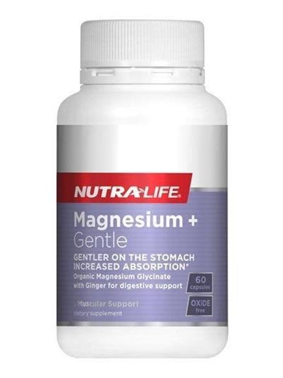 NL Magnesium + Gentle 60caps