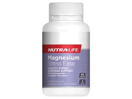 NL Magnesium Stress Ease 60Cap