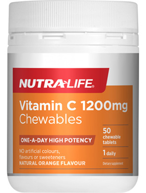 NL Vitamin C 1200mg 50tabs