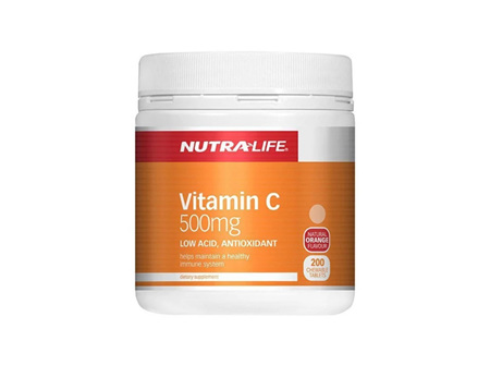 NL Vitamin C 500mg Chews 200