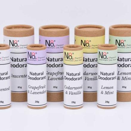 No. 8 Essentials Natural Deodorants