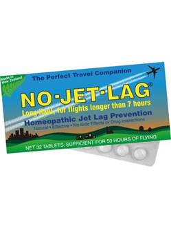 No Jet Lag Homeopathic Jet Lag Prevention Tablets 32s
