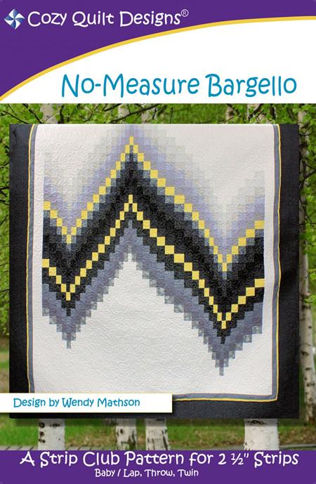 No-Measure Bargello Quilt Pattern
