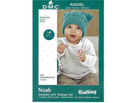 Noah Sweater & Teabag Hat Pattern